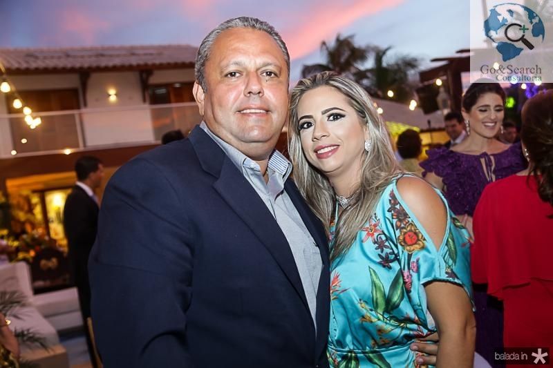 Ronaldo e Eliana Leal