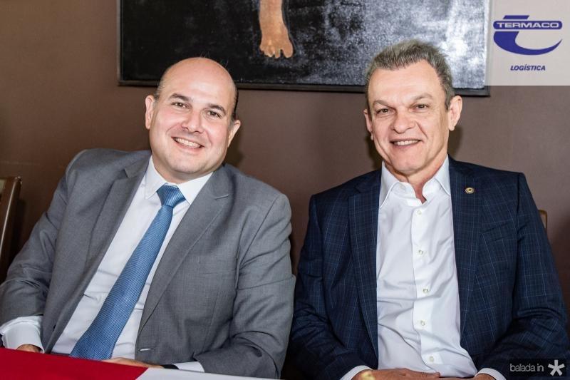 Roberto Claudio e Jose Sarto