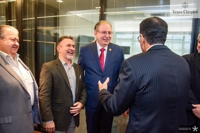 Benildo Aguiar, Ricardo Cavalcante e Beto Studart