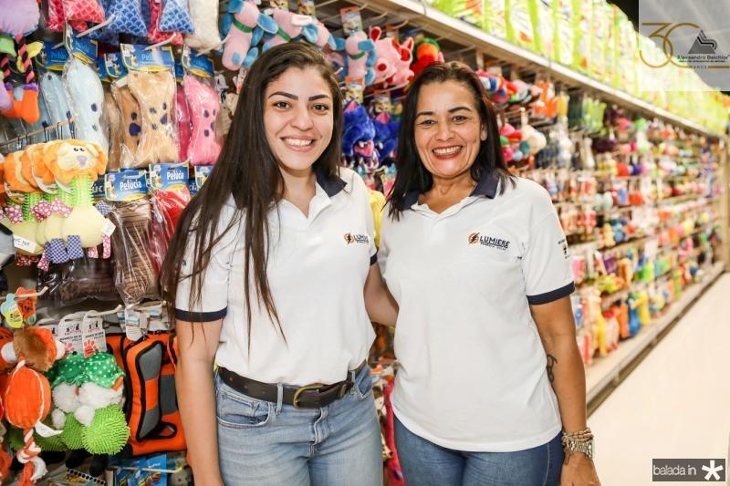 Agnes e Adriana Magalhaes