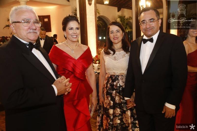 Alcimor e Fabiola Rocha, Fatima Goncalves e Jardson Cruz 1