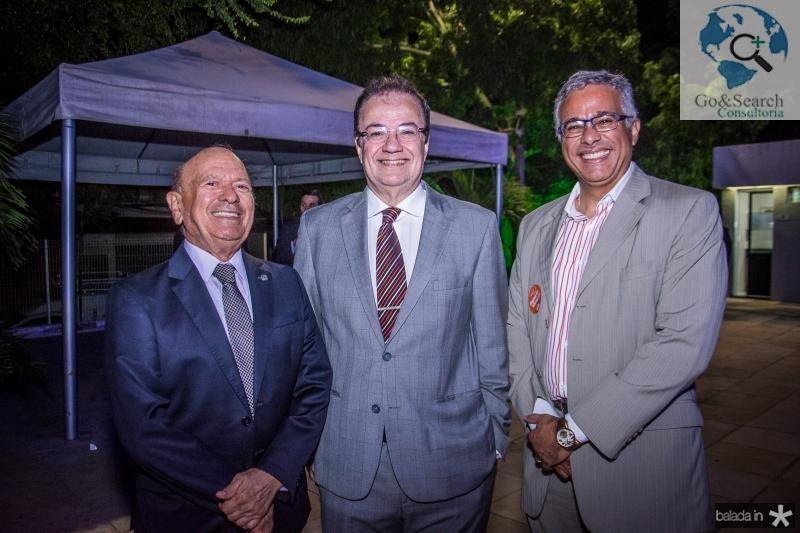 Danilo Mota, Carlos Monteiro e Fabio Ozorio