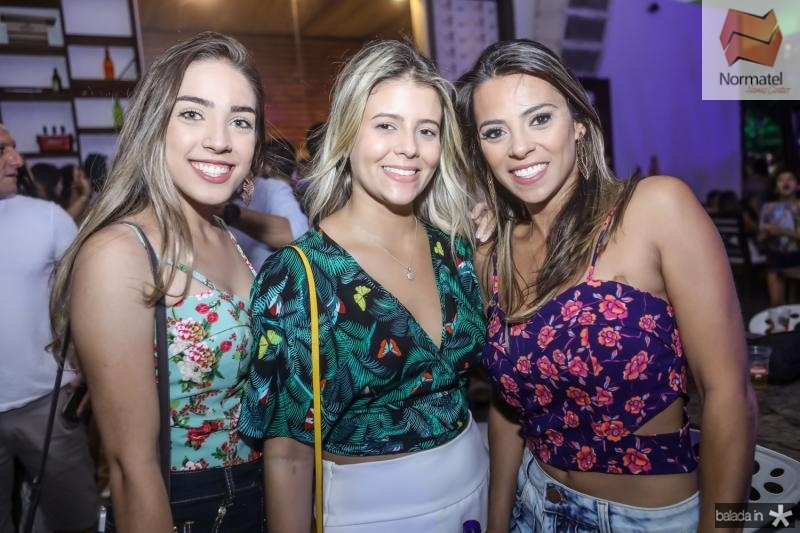 Rafaela Aguiar, Isabel Cavalcante e Renata Aguiar