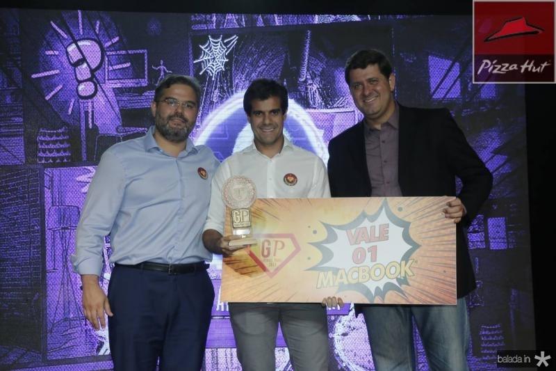 Edson Queiroz Neto, Alan Oliveira e Rafael Rodrigues