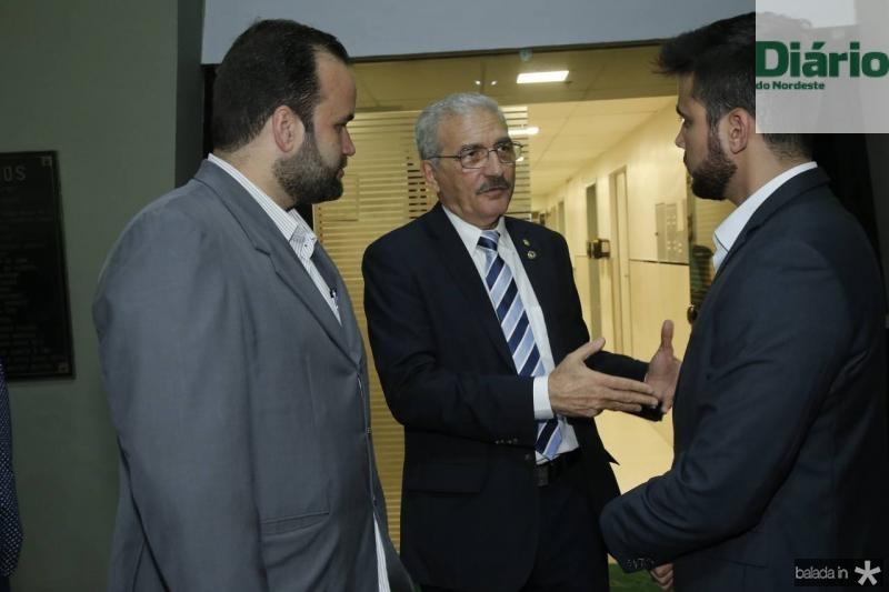 Carlos Ernesto, Walter Cavalcante e