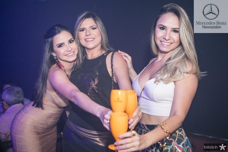 Ticiana, Claudia e Juliana Rolim