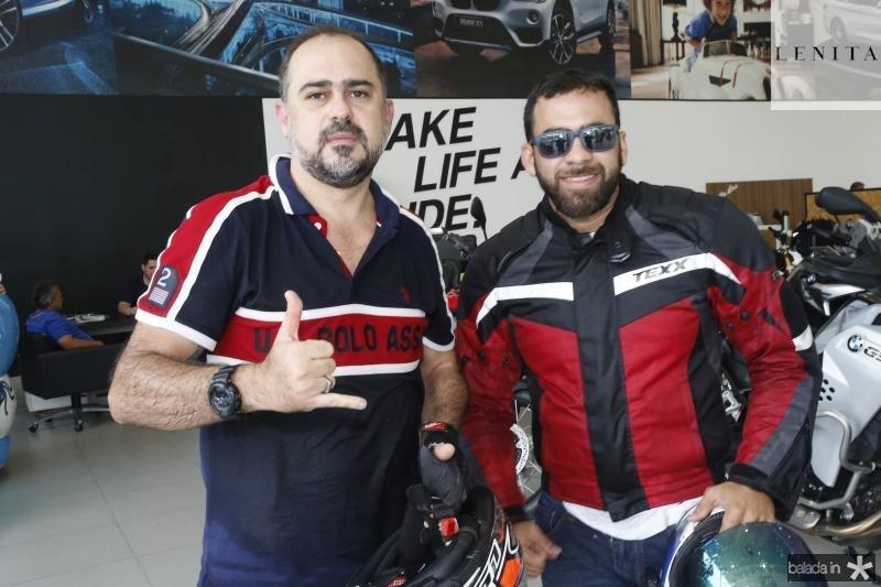 Girao Neto e Francisco Mourao