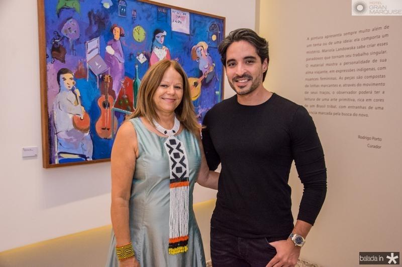 Mariola Landowska e Rodrigo Porto