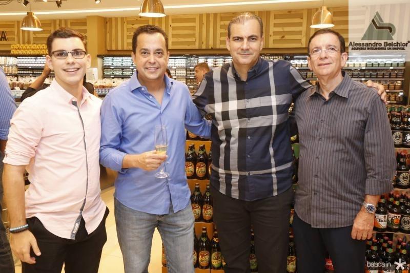 David Sales, Luiz Ferreira, Alexandre Sales e Orlando Pontes