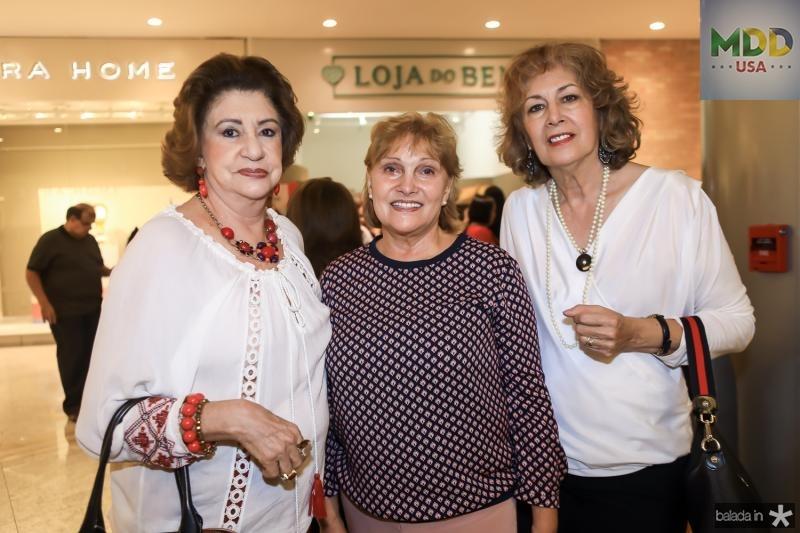 Maze Campos, Reinhilde Lima e Ines Romano