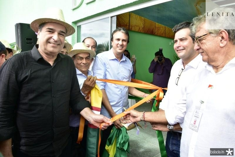 Joao Jaime, Jhonas Muniz, Camilo Santana, Mauricio, Assis Machado