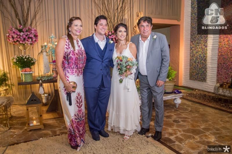 Rose Batista, Joao Cabral Filho, Carla Braga e Eliseu Batista