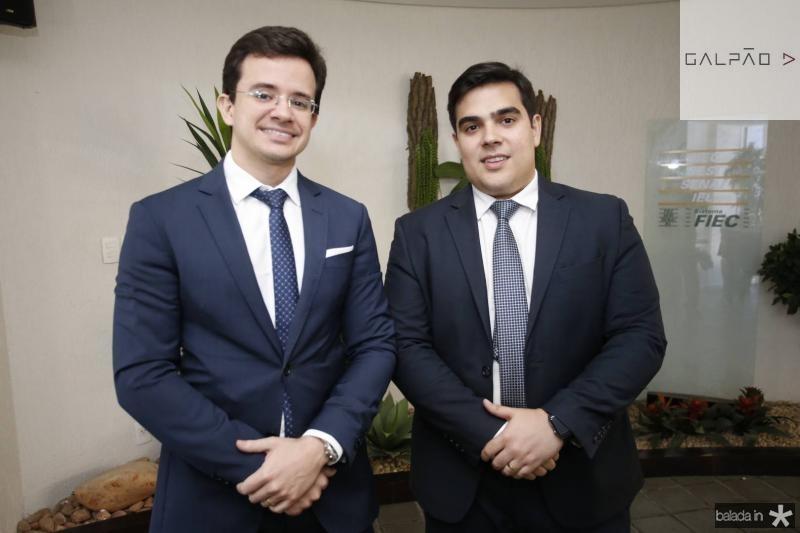 Rafael Albuquerque e Thiago Pinho
