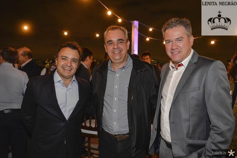 Henrique Pereto, Clauss e Andre? Maia