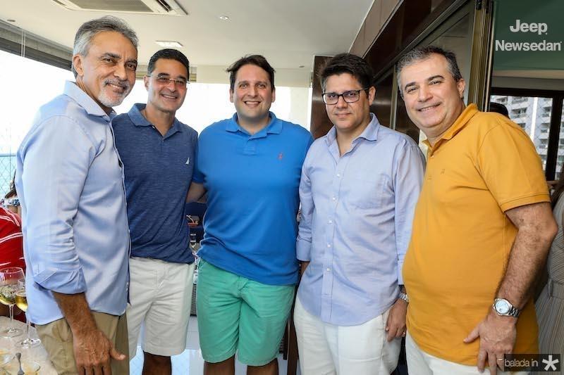Paulo Angelim, Daniel Arruda ,Daniel Otoch Simões, Leonardo Carvalho, Ricardo Bezerra