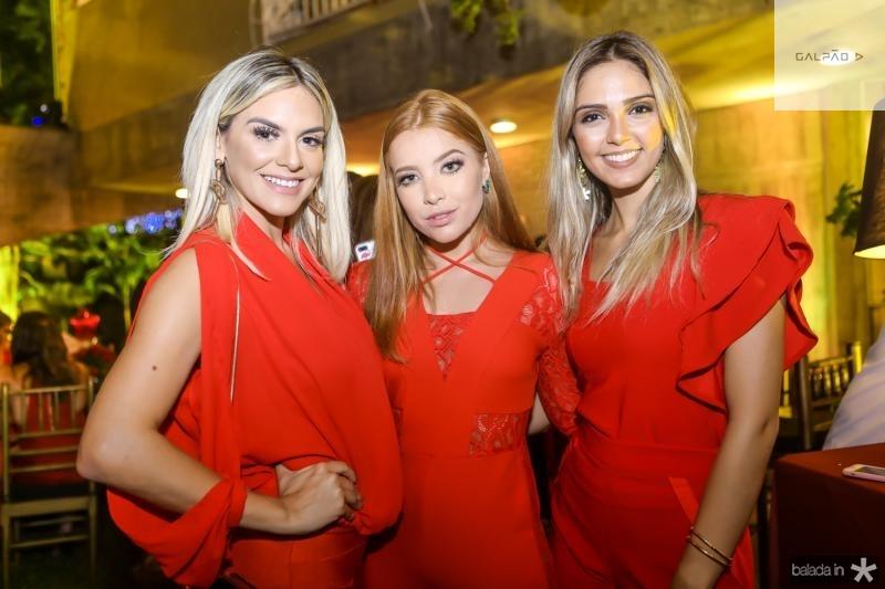 Camila Lima, Fernanda Borges e Priscila Levy