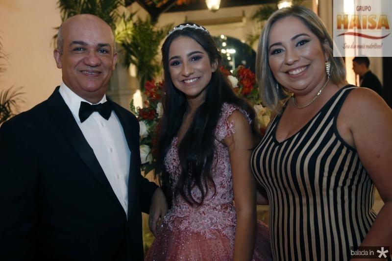 Paulo, Ester e Suzana Figueiredo