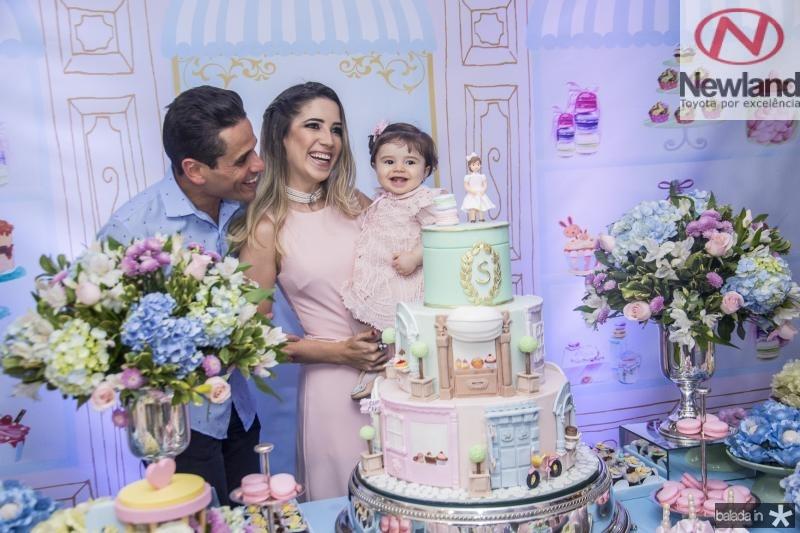 Rafael, Liana e Sara Sa
