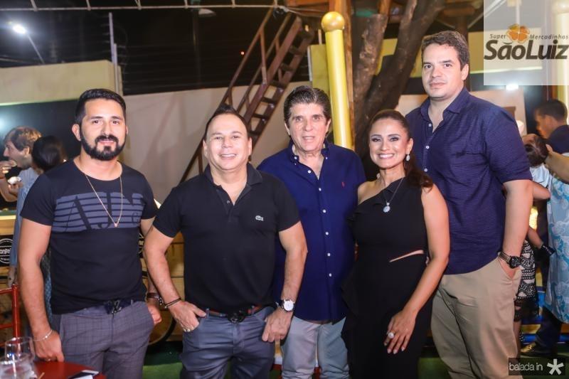 Julio Alves, Marfrenze Sousa, Dito Machado, Nazare Santiago e Thiago Holanda