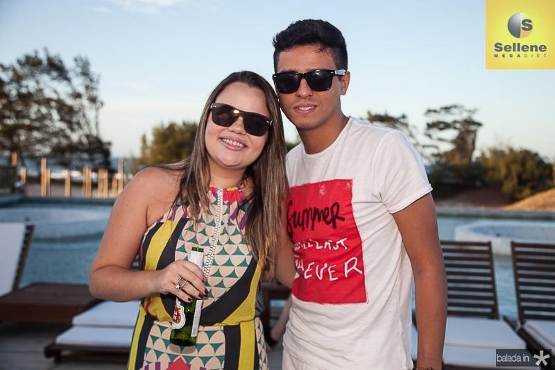 Jessica Camarço e Paulo Menezes