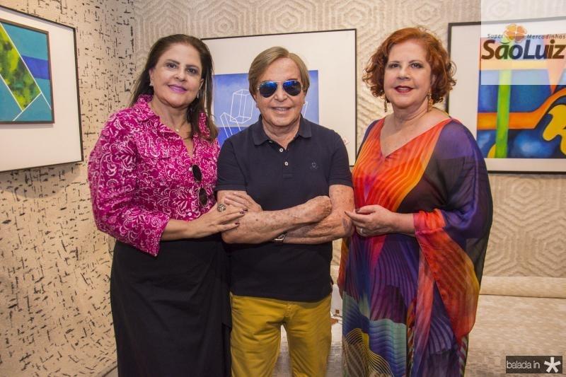 Celina Fiuza, Lazaro Medeiros e Ana Virginia Carneiro