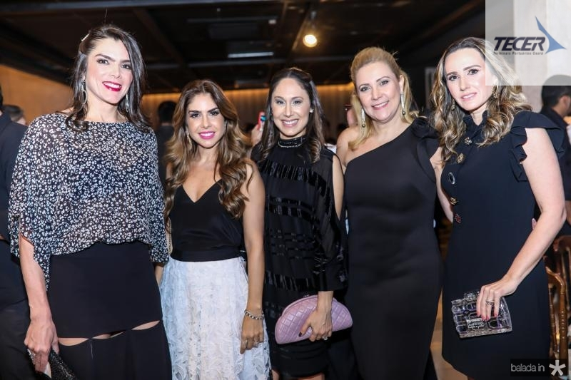 Beatriz e Rafaela Otoch, Natalia Marques, Andrea Delfino e Roberta Nogueira