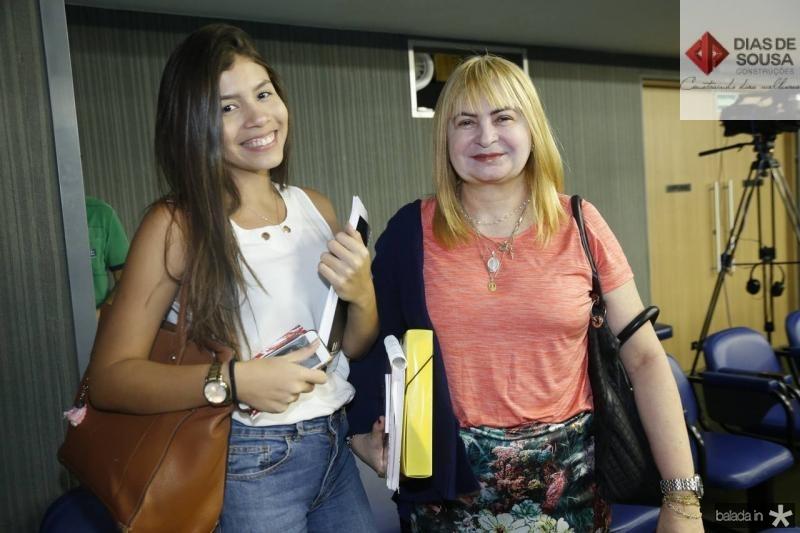Lorena Chaves e Ines Salmito