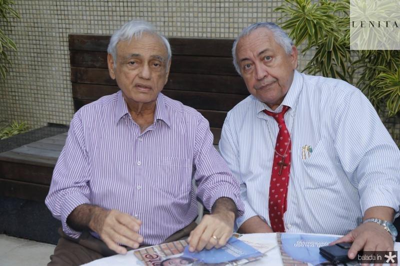 Leorne Belem e Jose Maria Bonfim