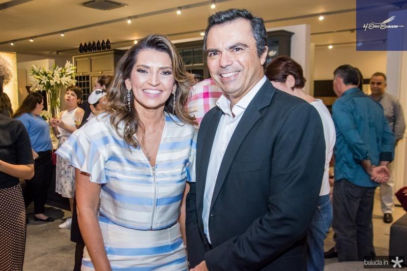 Marcia Travessoni e Juvencio Viana