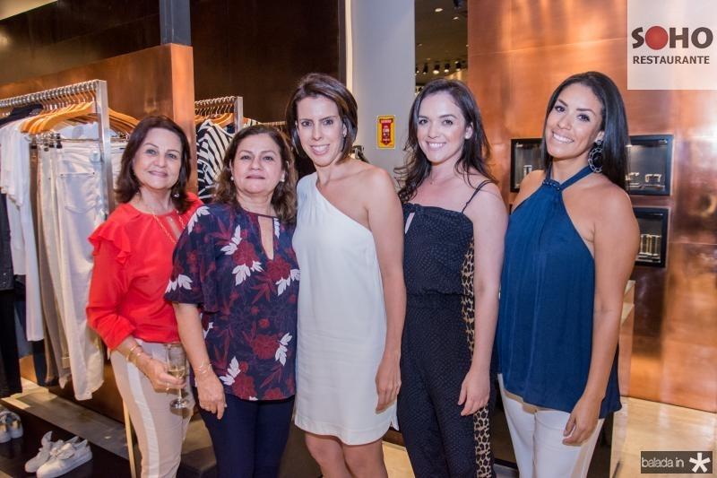 Fatima Araujo, Teresa Candida, Glaucia Zupano, Tatiana Dias e Juliane Araujo