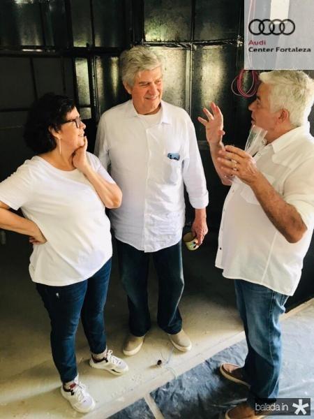 Neuma Figueiredo, Amarílio Macêdo e  Garcez Filho