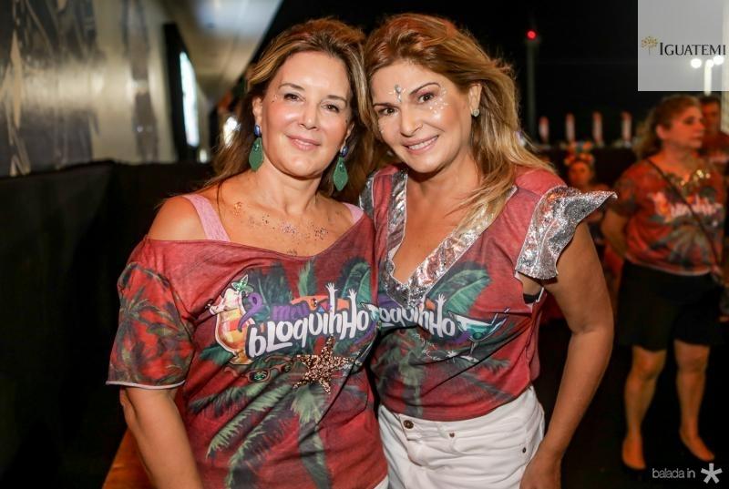 Fernanda Mattoso e Cris Lima