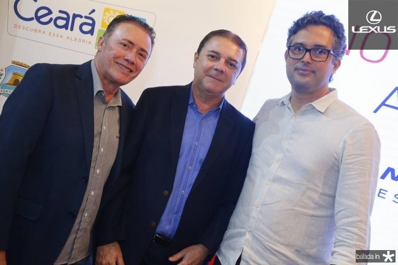 Darlan Leite, Eliseu Barros e Murilo Pascoal