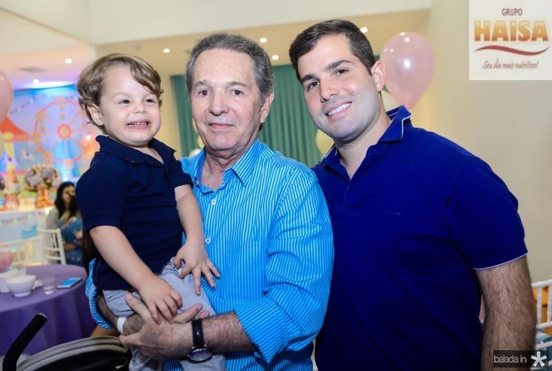 Bento, Claudio e Felipe Rocha