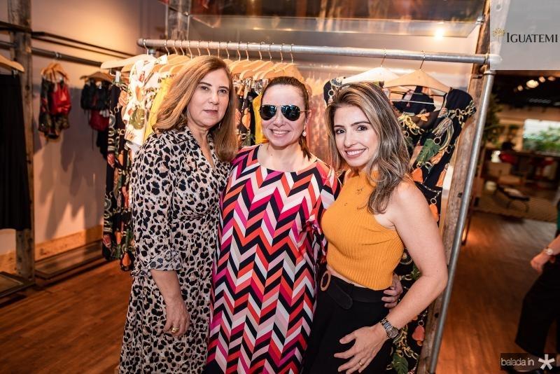 Joria Araripe, Claudia Pinheiro e Daniele Peixoto