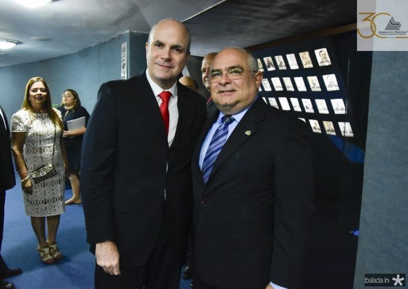 Luiz Eugenio Franca e Ricardo Santiago