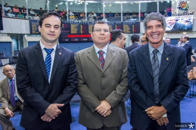 Capitao Wagner, Duarte Frota e Luis Benicio