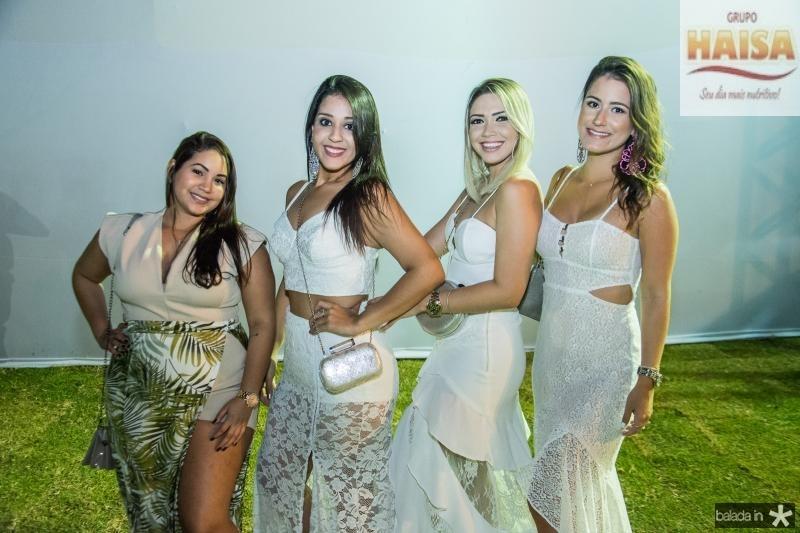 Lais Helana, Geovana Albuquerque, Manuela Fernandes e Aline Medeiros