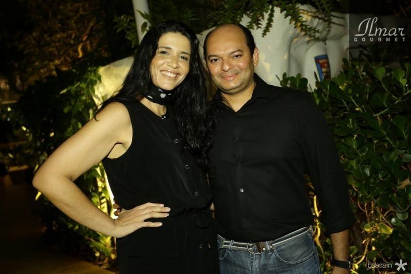 Manu Macedo e Otilio Ferreira
