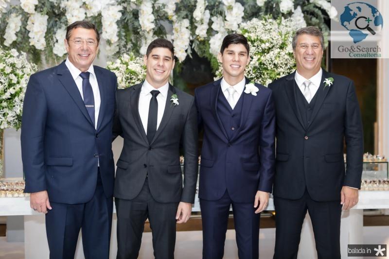 Alexandre, Andre, Eduardo e Mauricio Sleiman