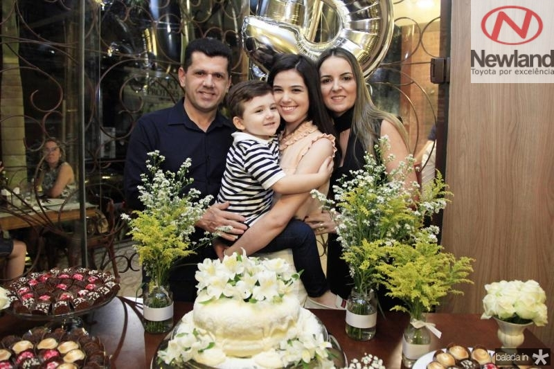 Erick Vasconcelos, Erick Vasconcelos, Beatrice Vasconcelos e Raquel Vasconcelos