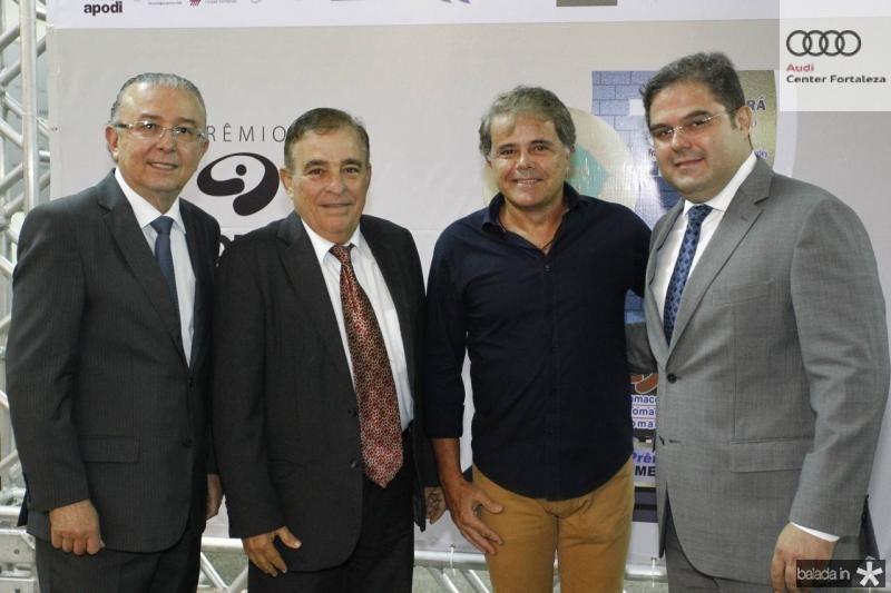 Antonio Jose Mello, Claudio Targino, Ivan Bezerra e Edson Queiroz