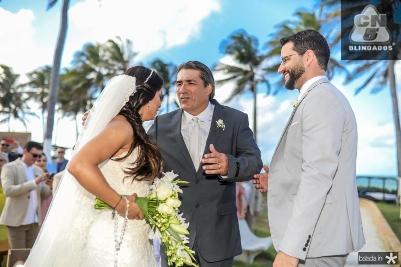 Veruska Sousa, Cesar Menezes e Tiago Lobo