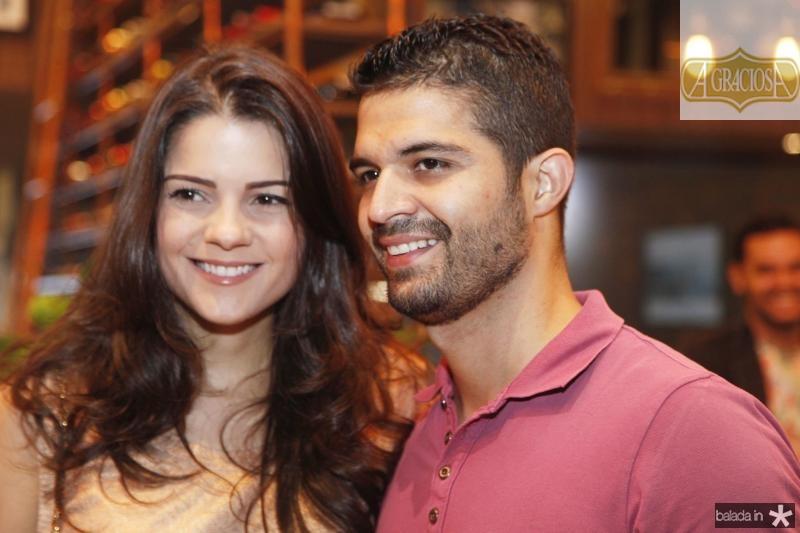 Priscila Ximenes e Bruno Becco