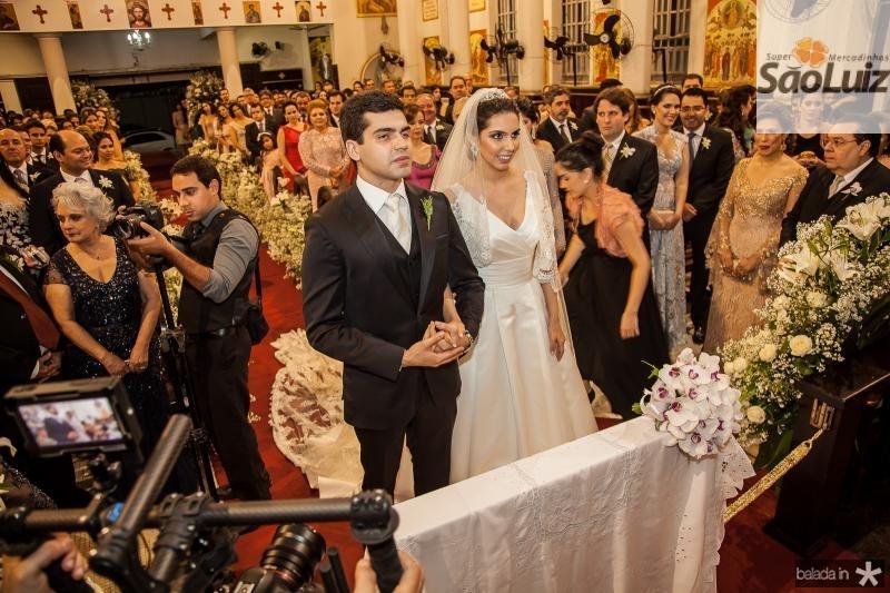 Pedro Garcia e Carla Laprovitera