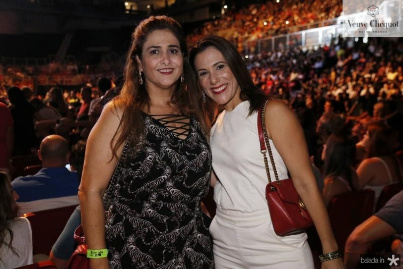 Luciana Rangel e Erika Dias