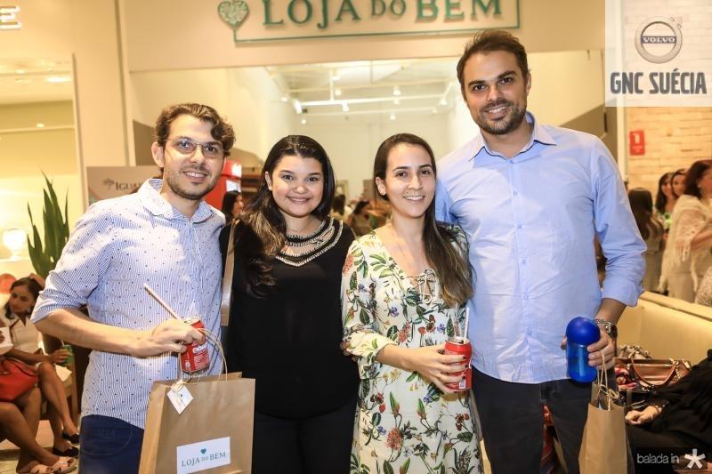 Tales Meireles, Aliane Vieira, Gabriela Rosa e Alvaro Meireles