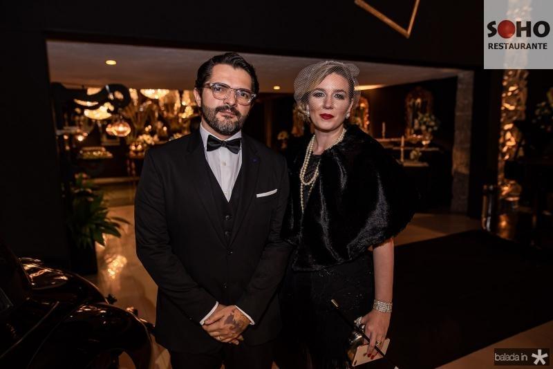 Quincy Queiroga e Andrea Monteiro