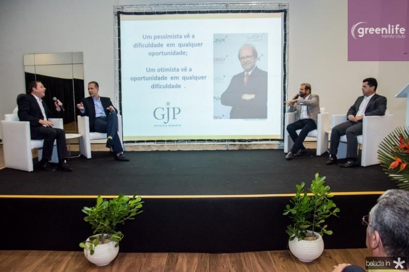 Eliseu Barros, Regis Medeiros, Guilherme Paulus e Erick Vasconcelos