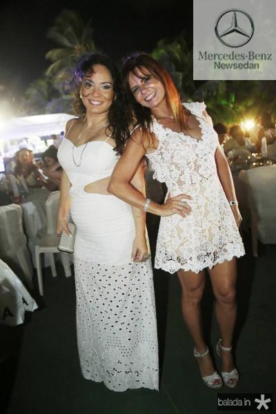 Juliana Pinheiro e Claudia Bezerra